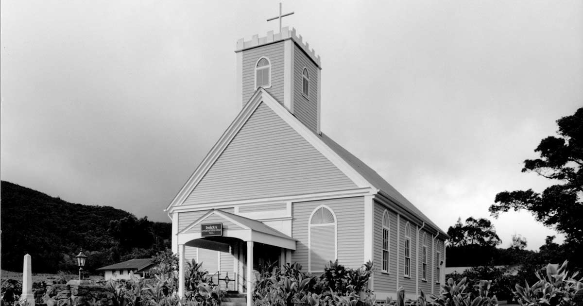 Imiola Church (courtesy Historic Hawaii Foundation)
